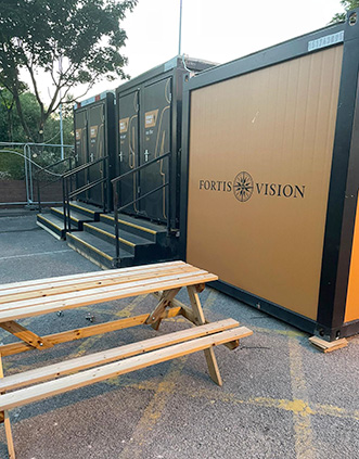 Fortis Vision bespoke solutions refit